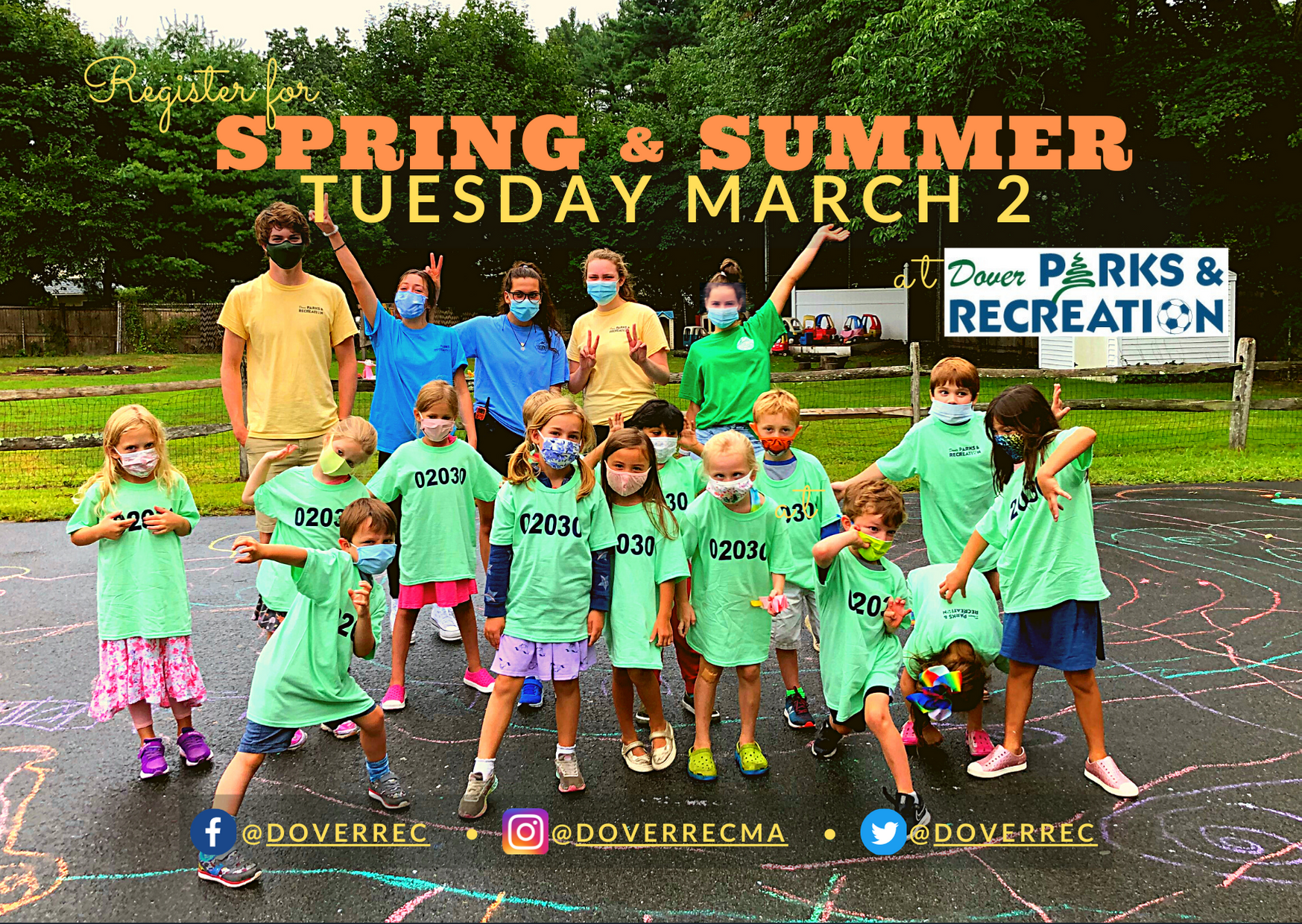 DoverRec SPRING.SUMMER 2021 REGISTRATION DETAILS