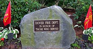 Dover Fire Department in Honor of Those Who Served Memoriam Rock